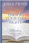 more information about Ending Your Day Right: Devotions for Every Evening of the Year - eBook