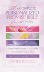 more information about Complete Personalized Promise Bible for Women: Every Single Promise in the Bible Personalized Just for You In Topical Format Especially for Women - eBook