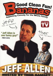 Bananas: Jeff Allen, DVD   -     By: Jeff Allen