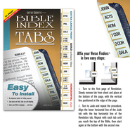 Horizontal Tabs, Extra Large, Gold  -