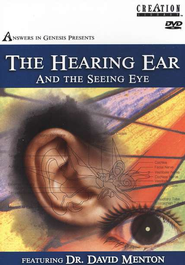 The Hearing Ear and the Seeing Eye, DVD   -     By: Dr. David Menton