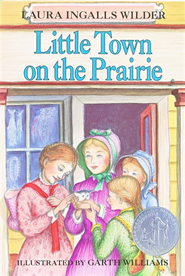 Little Town on the Prairie, Little House on the Prairie Series  #7 (Softcover) - Slightly Imperfect  -