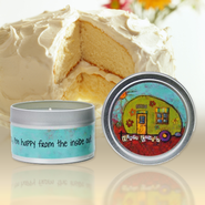 Show Off Your Faith Candle Tin, Very Vanilla  -
