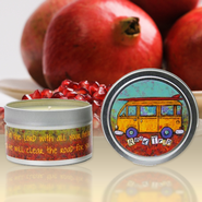 Show Off Your Faith Candle Tin, Fig & Pomegranate  -