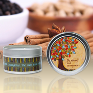 Show Off Your Faith Candle Tin, Vanilla and Ginger   -