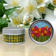 Show Off Your Faith Candle Tin, Jeweled Jasmine  -