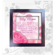 My Mom, Glass Frame   -