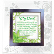 My Dad, Glass Frame   -