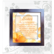 Sister, Glass Frame   -