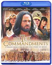 The Ten Commandments, Blu-ray   -