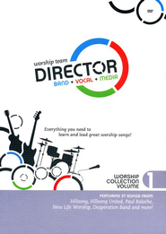 Worship Team Director: Worship Collection Volume 1 (Band Pack 6 DVD Box Set)  -              By: Various Artists