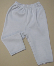 Jesus Loves the Little Children Pants, Gray, 3-6 Months  -