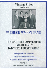 Hall of Fame Series, Volume 17 DVD   -     By: The Chuck Wagon Gang