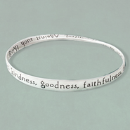 Fruit of the Spirit Mobius Bracelet  -