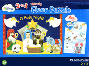 Nativity 2-in-1 Floor Puzzle  -