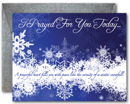 Blank Notecards, Snowflakes, Pack of 10  -