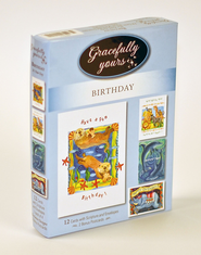 It's Your Day Birthday Cards, Box of 12   -              By: Wendy Darker
