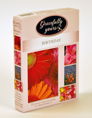 Rejoice Birthday Cards, Box of 12   -     By: Danny Burk