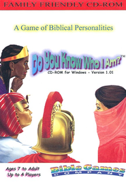 Do You Know Who I Am? CD-ROM Game   -