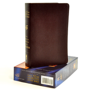 NAS New Inductive Study Bible, Bonded leather, Burgundy,  Thumb-Indexed  -              By: Kay Arthur