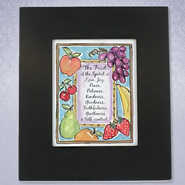 Fruit of the Spirit Framed Print  -