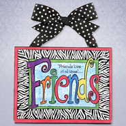 Friends Love at All Times Plaque  -