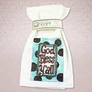 God Bless Y'All Kitchen Towel             -