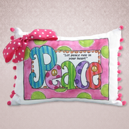 Let Peace Rule in Your Heart Pillow  -