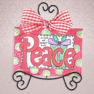 Peace on Earth Easel Art  -