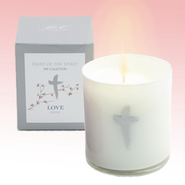 Love Candle with Agave Scent  -