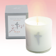 Peace Candle with Citrus Scent  -