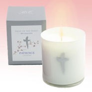 Patience Candle with Lavender Scent  -