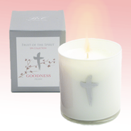 Goodness Candle with Peony Scent  -