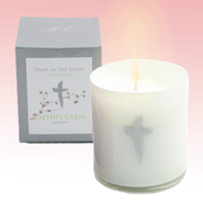 Faithfulness Candle with Bamboo Scent  -
