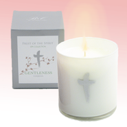 Gentleness Candle with Verbena Scent  -