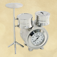 Drum Set Desk Clock, Psalm 92:1  -