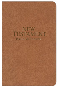 KJV Pocket NT, Premium Brown   -