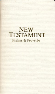 KJV Economy Pocket New Testament with Psalms and Proverbs   -