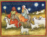 Holy Light Christmas Cards, Deluxe Box of 18  -              By: Susan Winget