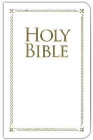 KJV Holy Bible, Special Occasion Edition, White     -