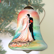 Wedding Couple Neqwa Ornament  -     By: Connie Haley