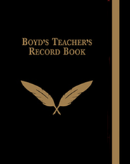 Boyd's Teacher's Record Book  -