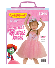 God's Little Girl Princess Costume (Size 4-6)   -