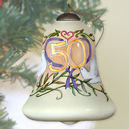50th Anniversary Neqwa Bell Shaped Ornament  -     By: Susan Winget