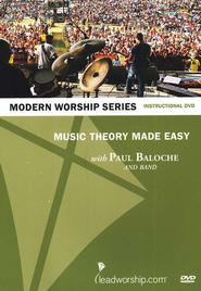 Music Theory Made Easy--DVD   -     By: Paul Baloche