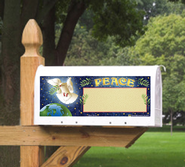 Peace Dove Mailbox Magnet  -              By: MAILBX