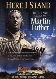 Here I Stand: The Life and Legacy of Martin Luther, DVD   -