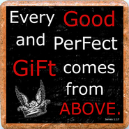 Every Good and Perfect Gift Trivet   -