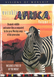 Worship Africa DVD & Audio CD, Volume 1   -