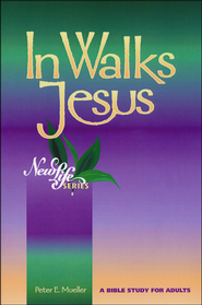 In Walks Jesus  -              By: Peter Mueller